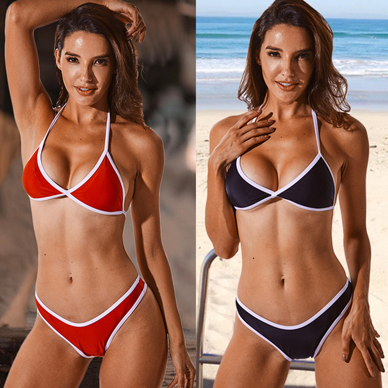 CROSS1946 2018 Bikini Set Multi-color Swimwear Women Sexy Bench Swimsuit Bathing Suit Padded Biquini Brazilian Maillot De Bain