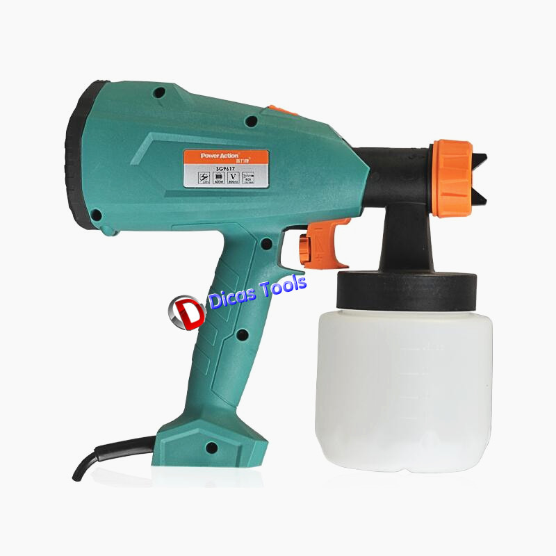 все цены на High-quality 400W air brush electric spray gun SG-9617 paint spray gun 800ml 220V-240V DIY furniture with a funnel онлайн
