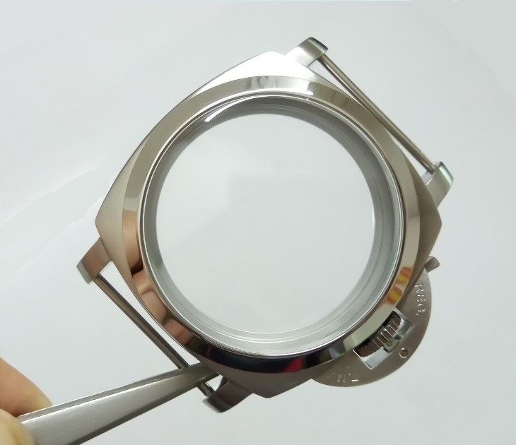 47mm High quality 316L Stainless steel  watch cases fit ETA 6497/6498 Mechanical Hand Wind movement 019-8 | Fotoflaco.net