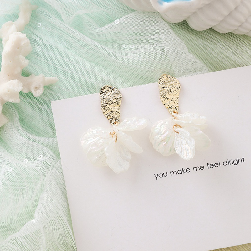 MENGJIQIAO New Korea Japan Elegant Shell Starfish Drop Earrings For Women Sweety Simulated Pearl Pendientes Girl Party Jewelry 22