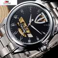 TEVISE Fully Automatic Mechanical Male Watches Korean Fashion Waterproof Male Form High-end Brand Men's Watch M554-001