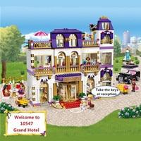 1585 шт. Бела Diy Друзья серии Heartlake Grand Hotel совместимый с legoingly здание игрушечный конструктор подарок для детей