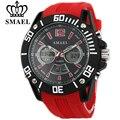 SMAEL Casual Watches LED Digital Quartz Watch Man Analog Digital Gift Clocks Male Watch Men Alloy Waterproof Wristwatch Relogio