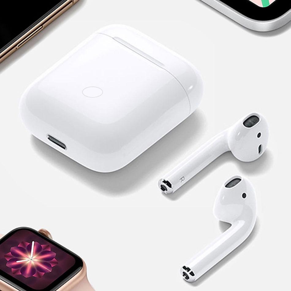 WIWU écouteur sans fil i12 TWS casque Bluetooth 5.0 Sports écouteurs tactile contrôle 3D stéréo sans fil écouteurs pour téléphone portable