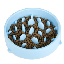 Free Shipping Cute Dog Bowl Pet Food Container Cat Stomach Feeding Supplies Slow Feeder 50GP005