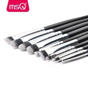 Image 5 - MSQ profesyonel 20 makyaj fırçası setleri göz farı kirpik kaş dudak kozmetik aracı makyaj gözler detay fırça seti