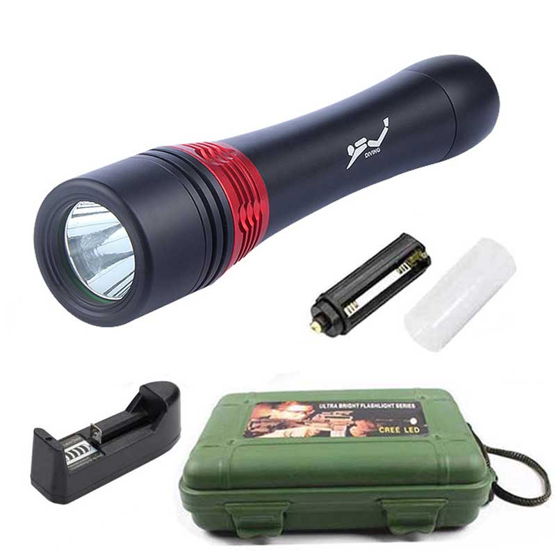 2000 Lumens Led Diving Flashlight Lampe Torch High bright CREE T6 Tactical Linterna Flash light Lamp with Universal Charger&Box q5 flashlight tactical 2000lm lanterna torch penlight 3 modes zoomable linterna led diving flash light 1w high power