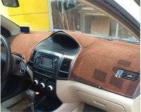 Dashmats Car Styling Accessories Dashboard Cover For Toyota VIOS Yaris Sedan Belta 2002 2003 2004 2005