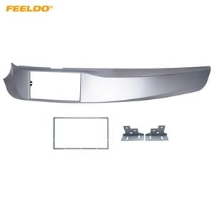 Image 1 - FEELDO Car 2DIN Stereo Radio ABS Fascia Plate Panel Frame for Alfa Romeo Giulietta(940) Left Wheel CD/DVD Radio Panel Dash Mount