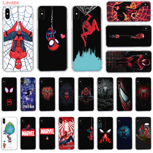Lavaza Spider Man Far From Home Hard Phone Case for Apple iPhone 6 6s 7 8 Plus X 5 5S SE for iPhone XS Max XR Cover spider man into the spider verse for funda iphone xs max case cover for case iphone 6s plus 5 5s se 6 7 8 plus xr x cases cover