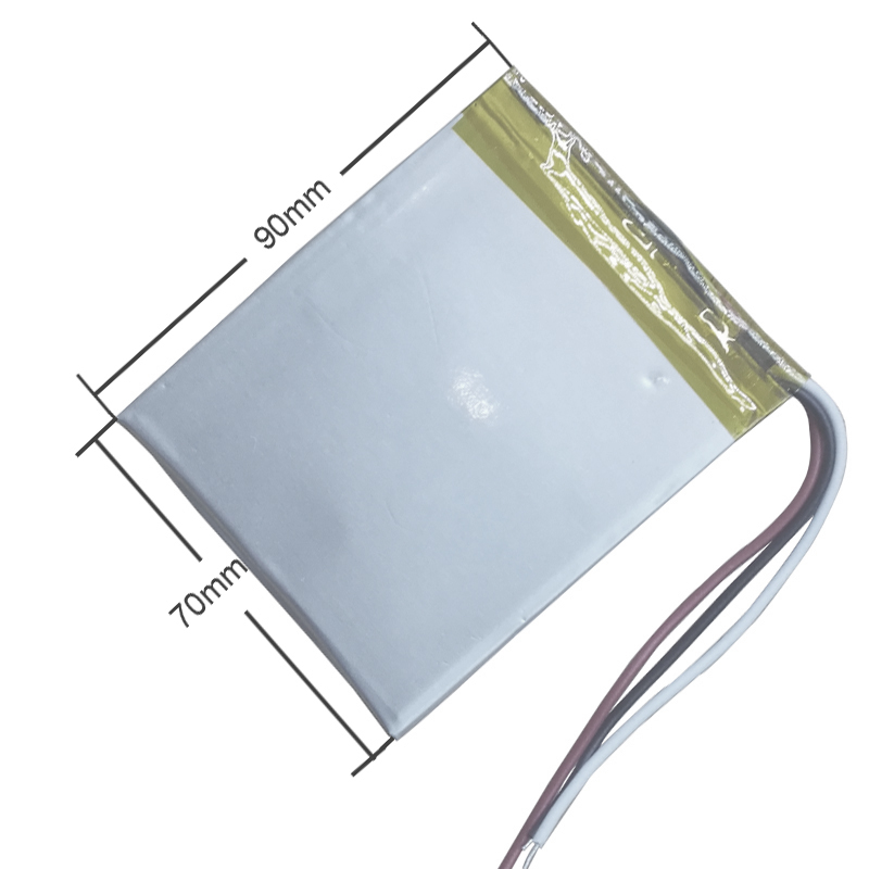 3 line 3.7 V <font><b>4000</b></font> <font><b>mah</b></font> tablet battery gm lithium polymer battery 357090 Li-ion battery for MP3 MP4 image