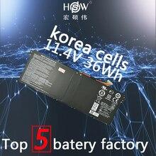 New 11.4V 36wh Laptop Battery for Acer Aspire E3-111 V3-111 V3-111P V5-122 AC14B8K KT0030G AC14B18J 4ICP5/57/80 Bateria akku цена в Москве и Питере