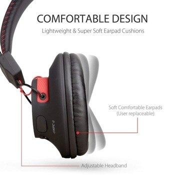 Avantree 40 hours DUAL Mode Bluetooth Over Ear Headphones with Mic, Super COMFORTABLE, Wireless & Wired, aptX Hi-fi NFC Headset