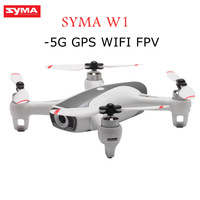 Syma W1 GPS 5G WiFi FPV with 1080P HD Adjustable Camera Following Gestures RC Drone Quadcopter RTF