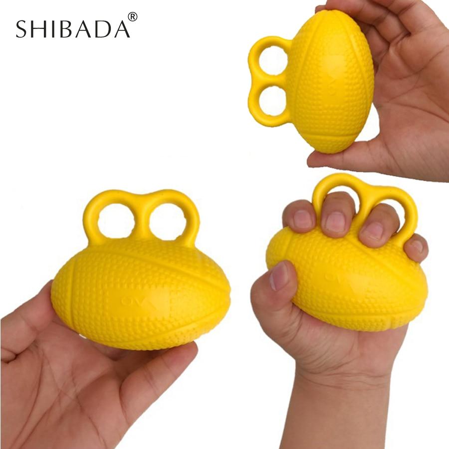 купить SHIBADA Fitness Compact Hand Exerciser Finger Training Powerball Squeeze Balls for Hand Gripper Fitness Equipment онлайн