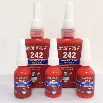 1pcs 242 Glue Screw Glue Blue Glue Anaerobic Adhesive Sealing and leakproof thread locking agent 1