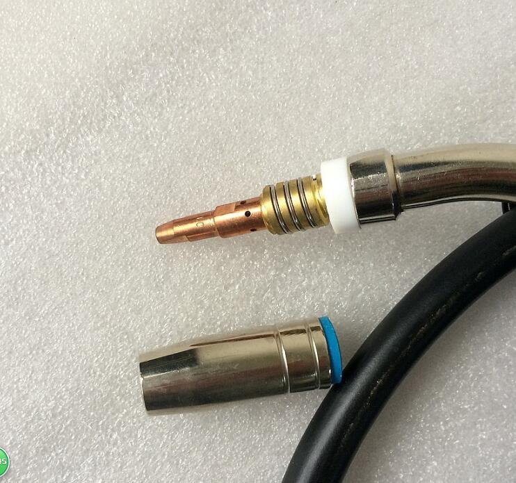 Euro Connector MIG For Welding Torch Cooled MAG Machine 25AK MB25 Welding Welder 3M Quick 1pcs Air Gun