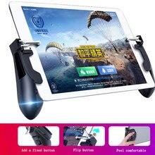 Pubg mobie controlador para ipad iphone samsung gaming gamepad tablet gatilho botão de fogo objetivo chave do jogo móvel punho manche