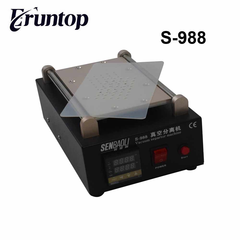 High Quality 110/220V Built-in Pump Vacuum Metal Body Glass LCD Screen Separator Machine Max 7 inches with Cutting Wire high quality low price best service 90kpa vacuum membrane vacuum pump