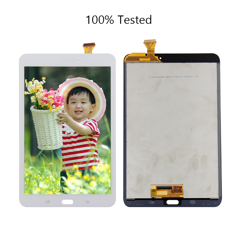 Free Shipping For  Samsung Galaxy Tab E 8.0 SM-T377 T377A T377V T377P/T Digitizer Touch Lcd Screen Display Assembly Replacement for samsung galaxy mega 5 8 i9150 i9152 lcd display with touch screen digitizer assembly by free shipping