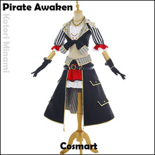 [STOCK] Anime Lovelive Nueva Tarjeta Pirata Despertar Kotori Minami SJ Uniforme Vestido de Halloween Cosplay disfraces para mujeres Envío gratis