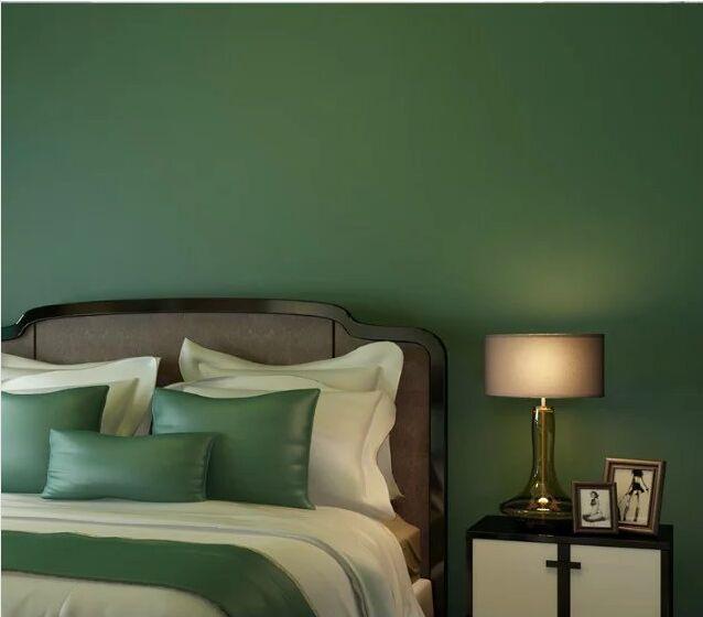3D Moderne Wallpapers Home Decor Effen Kleur Behang 3D Non woven ...