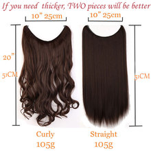 Invisible Wire No Clips in Hair Extensions Secret (30 colors)