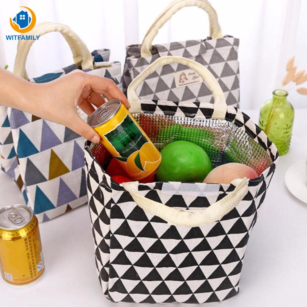 Portable Lunch Bag Cooler Bag for Women Girls Kids Adults Thermal Insulation Bags Travel Picnic Food Lunch box bag