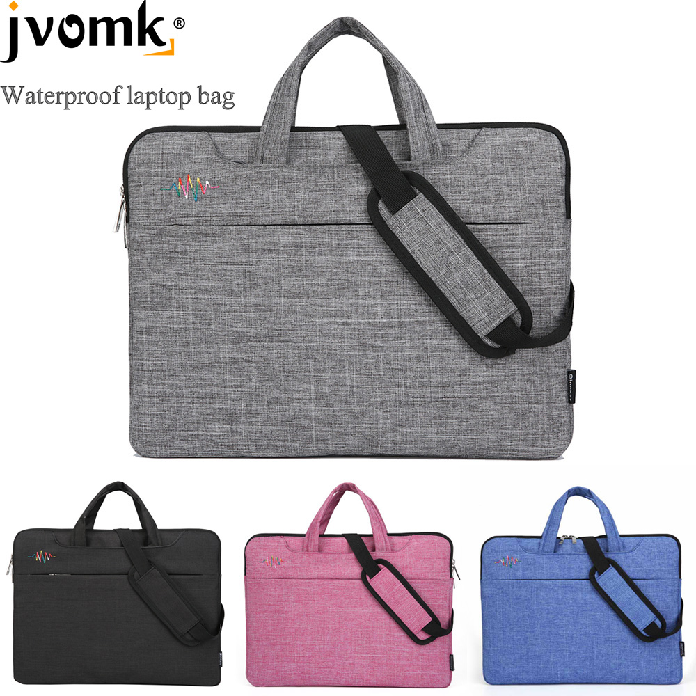 Laptop Bag 13 14 15 inch Waterproof Notebook bags for Macbook Air Pro 13.3 15.4 <font><b>15.6</b></font> Computer Shoulder Handbag Briefcase Sleeve image