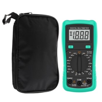 Multimeter Black Colth Bag 20*12*4cm UT Durable Waterproof Shockproof Soft Case