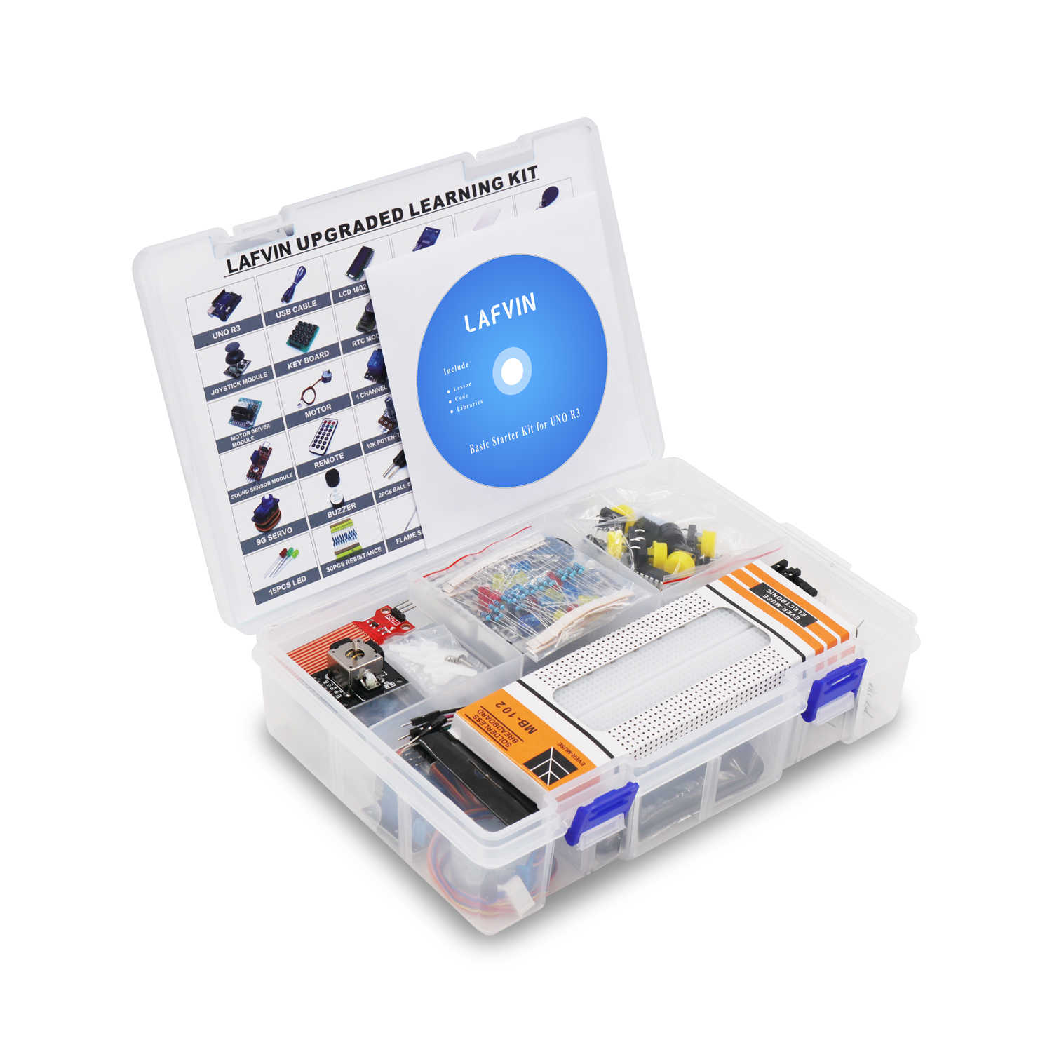 LAFVIN Starter Kit RFID Upgraded Version Learning Suite with Tutorial for  Arduino