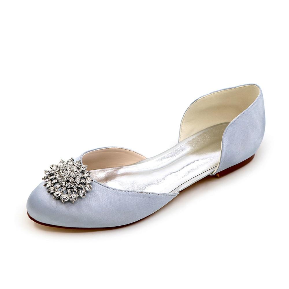 Fashion crystal brooch clip d orsay font b flat b font font b women s b