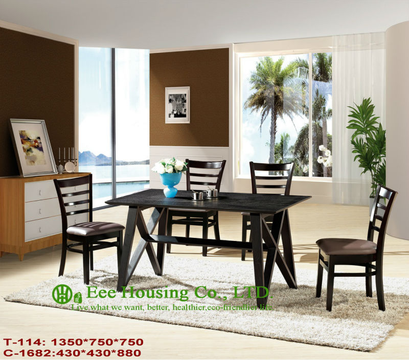 T-114,C-1682    Luxurious Solid Dining Chair,Solid Wood Dinning Table Furniture With Chairs/Home Furniture