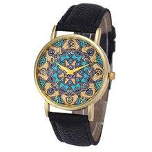 Durable Hot! 2015 New Arrival Women Faux Leather Analog Quartz Wrist Watches 11.23
