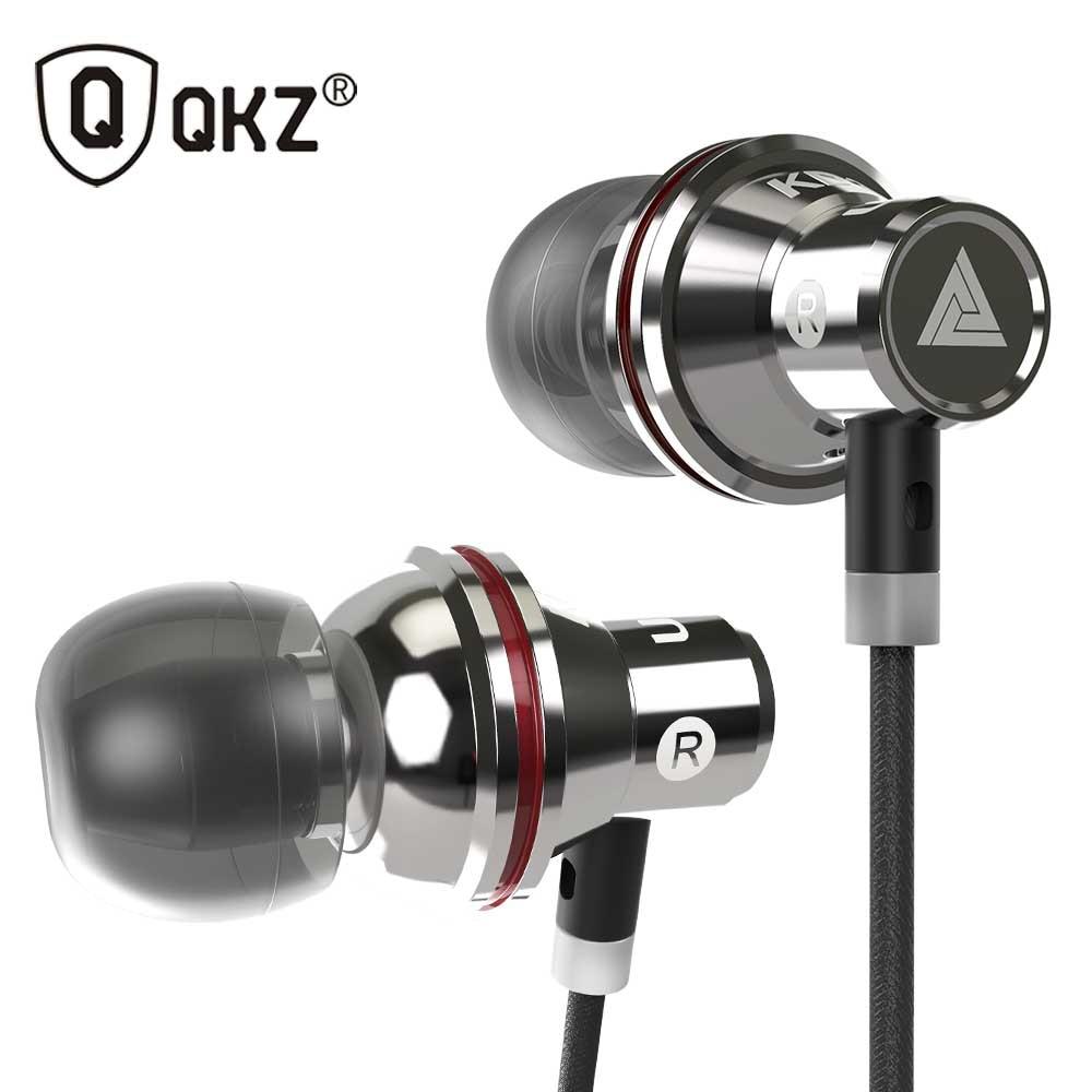 Originale QKZ KD3 UFO In Ear Auricolari In Metallo Auricolare Super Bass Stereo earpods Headfree Per Il Telefono Apple iPhone Xiaomi