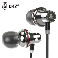 Original QKZ KD3 UFO In Ear Earphones Metal Earphone Headset Super Bass Stereo Headfree For Phone