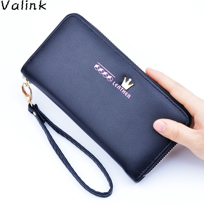 Valink 2017 New Fashion Women Zipper Wallet Long Purse Famous Brand Female Wallet Multifunctional Hand Bag Carteira Feminina yuanyu free shipping 2017 hot new real crocodile skin female bag women purse fashion women wallet women clutches women purse