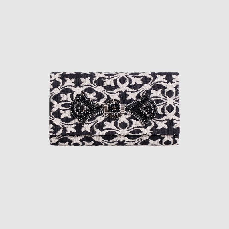 все цены на LOCAL FOCAL Black and white pattern handbag