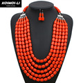 statement necklace acrylic bead necklace new fashion multilayer maxi long strand chain necklace women vintage jewelry 6400