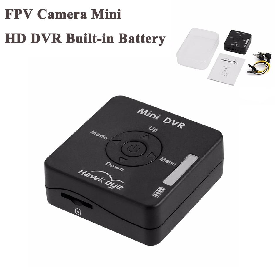 NZACE FPV Camera Mini HD DVR Built-in Battery HMDVR Recorder AV In AV Out Port for Racing Drone Quadcopter Multirotor new hmdvr fpv through the machine for mini dvr video audio recorder