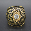 New Fashion Gold Plated Vintage Replica 1956 NY Yankees Major League Baseball Championship Ring for Fans Collection Gifts