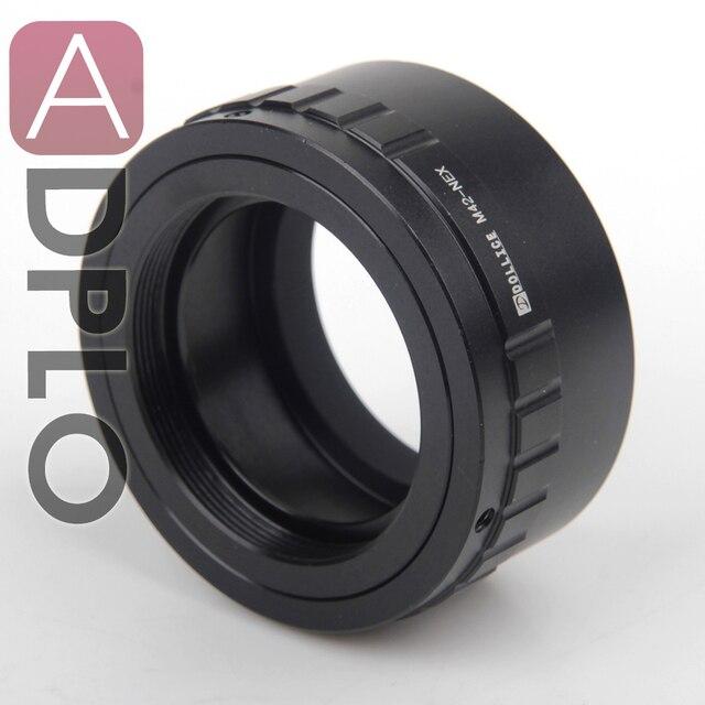 ADPLO 011050, חליפה עבור M42 For Sony NEX מצלמה, עדשת מתאם עבור M42 כדי NEX