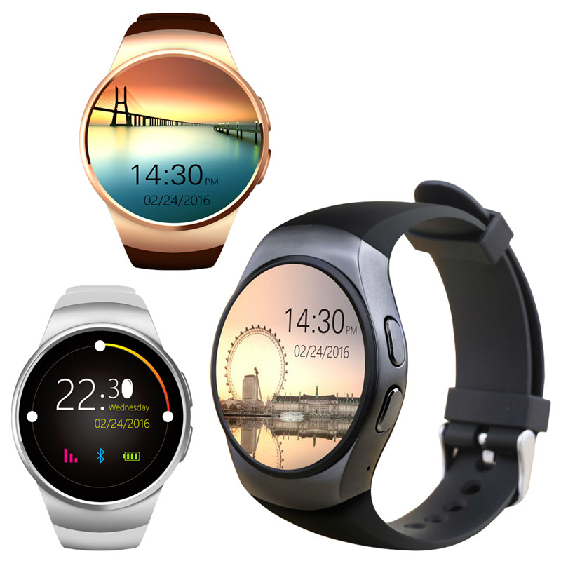 f69 bluetooth touch smart watch heart rate monitor watch connected phone font b smartwatch b font