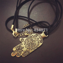 Accessories wholesale and the hand of Fatima necklace exotic ethnic wind Sweater chain