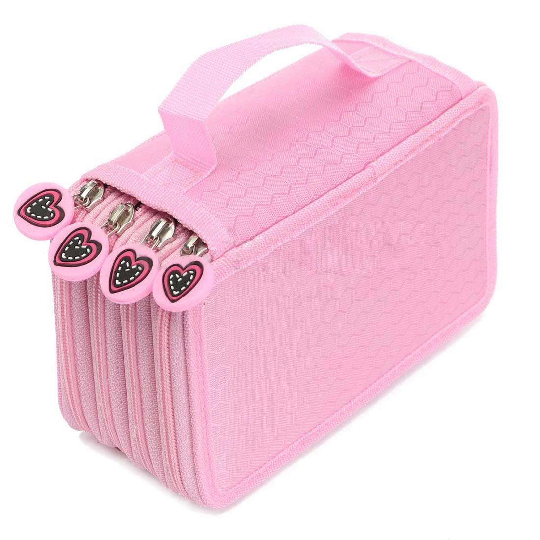 Pencil Bags cases Pencil box boxes A pencil case Pink School & Office pencil bags pencil cases pencil box rose red