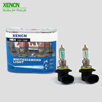 XENCN HB4 9006 12V 70W White Diamond Light Car Colorful Bulbs Replace Upgrade Halogen Fog Lamp Free Shipping New 35 meters 2PCS