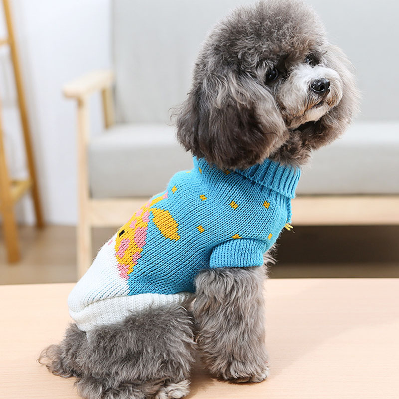 Dog Sweater 11 Style Knit Dog Sweater Cute Puppy Coat Knitting Pet Dog Cat Sweaters Pullover Dachshund Knitted Sweater Dog 4 16 in Dog Sweaters from Home Garden