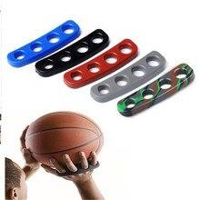 1 шт. 5 цветов Силиконовые выстрел замок баскетбольный мяч съемки тренер обучение аксессуары трехточечные Размеры для детей взрослый человек подростков