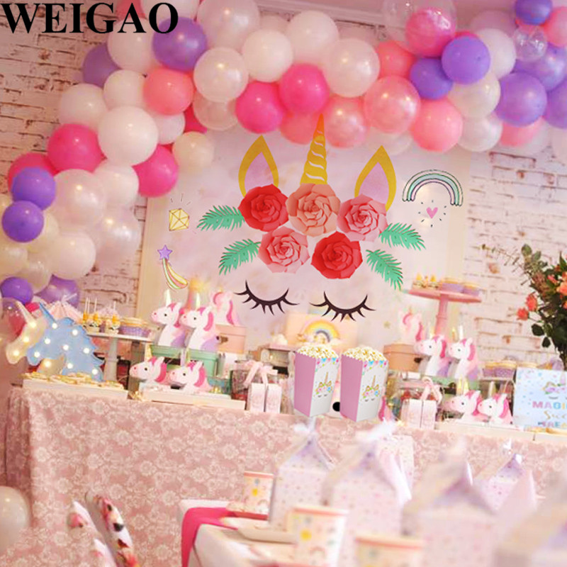 Home Furniture Diy Celebrations Occasions Unicorn Balloon Arch