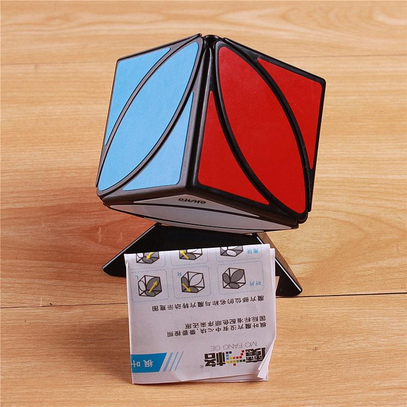 Original QiYi Mofangge Lvy Blad Line Pussel Magic Cube Speed - Spel och pussel - Foto 5